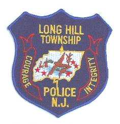 Changed to gold lettering in 1992, when Passaic Township changed its name to Long Hill Township.